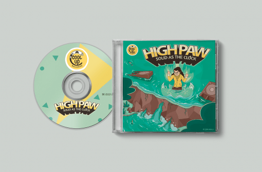 High Paw - Solid As The Clockj (CD)